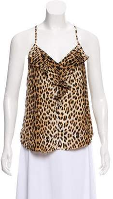 Twelfth Street By Cynthia Vincent Sleeveless Cheetah Top