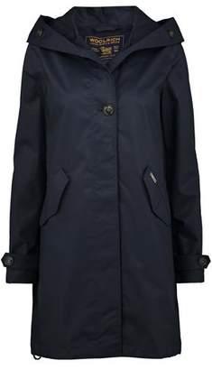 Woolrich Prescott Parka Jacket in Dark Navy