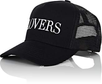"Amiri Men's ""Lovers"" Cotton Trucker Hat"