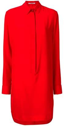 Givenchy concealed placket shirt dress