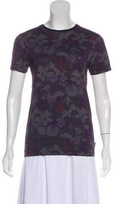 Ted Baker Floral Print Short Sleeve T-shirt