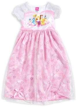AME Sleepwear Little Girl's and Girl's Princess Nightgown