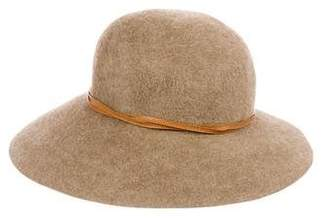 Eric Javits Wool Wide Brim Hat