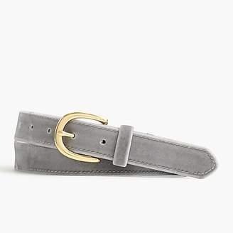 J.Crew Velvet belt
