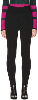 Proenza Schouler Black Knit Leggings
