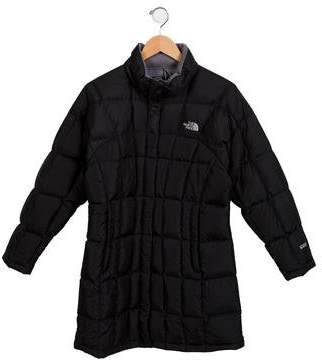 The North Face Girls' Down Mock Neck Coat