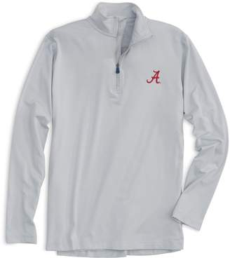 Southern Tide Lightweight Gameday Skipjack 1/4 Zip Pullover - University of Alabama