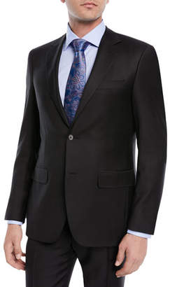 Canali Super 130s Wool Twill Two-Piece Suit