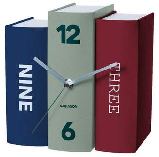 Karlsson Book Contradiction Paper Table Clock