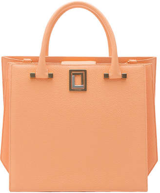 Luana Italy Origami Carryall Leather Tote