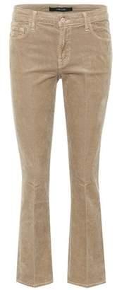 J Brand Selena cropped corduroy trousers