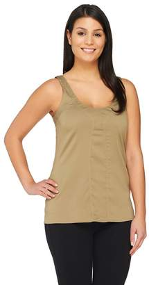 G.I.L.I. Got It Love It G.I.L.I. Sleeveless Scoop Neck Top with Seaming Detail
