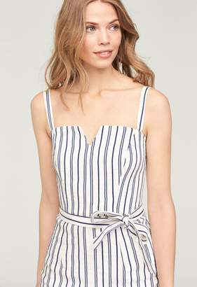 5fdeab9c334 Blue And Cream Striped Dress - ShopStyle