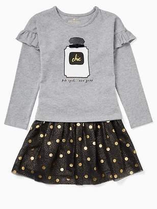 Kate Spade Toddler chic skirt set