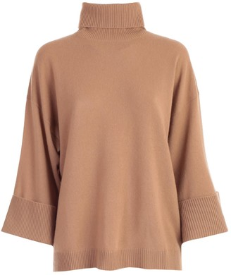 P.A.R.O.S.H. Sweater Over Turtle Neck