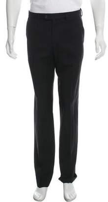 Prada Pinstripe Wool Pants