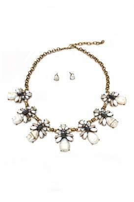 Jchronicles Facet Stone Necklace Set
