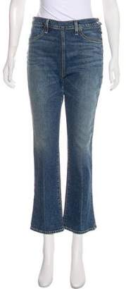Elizabeth and James High-Rise Straight-Leg Jeans