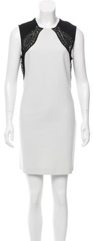 Emilio Pucci Emilio Pucci Embroidered Colorblock Dress