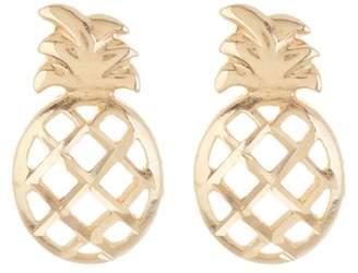 Candela 14K Yellow Pineapple Stud Earrings