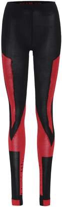 Unravel Wool-blend leggings