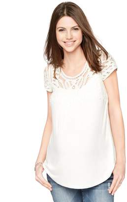 Daniel Rainn Button Detail Maternity T Shirt