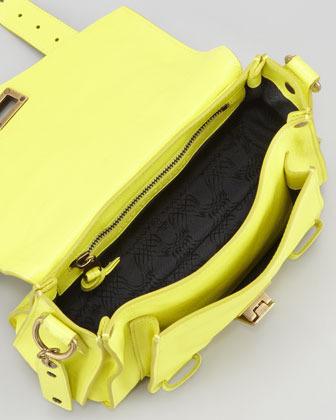 Proenza Schouler PS1 Shoulder Pouch Bag, Sunshine