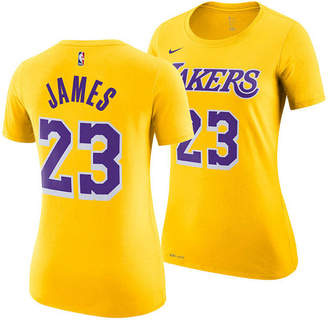 Nike Women's LeBron James Los Angeles Lakers Name & Number Player T-Shirt