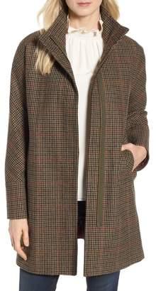 Kristen Blake Plaid Topper Coat
