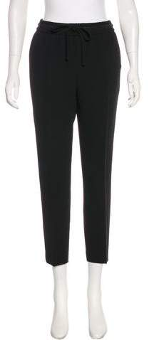 Kate Spade New York Mid-Rise Straight-Leg Pants