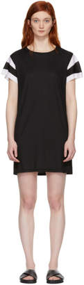 Rag & Bone Black Penny T-Shirt Dress