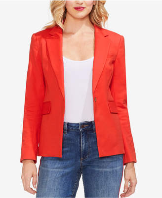 Vince Camuto Lace-Up Back One-Button Blazer