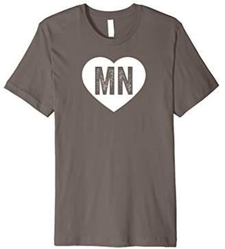 Minnesota Heart - Hometown State Pride Midwest Love T-Shirt