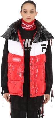 Fila D-Antidote Oversized Nylon Down Vest