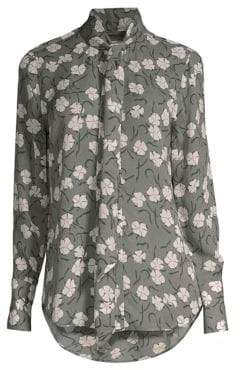 Equipment Luis Silk Floral Blouse