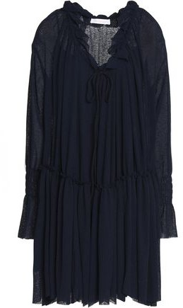 See By Chloé See By Chloe Gauze Mini Dress