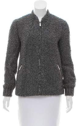 Club Monaco Wool-Blend Bouclé Jacket