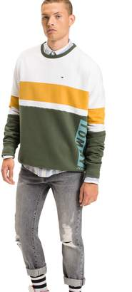 Tommy Hilfiger Colorblock Stripe Sweatshirt
