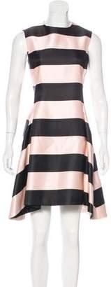 Christian Dior Silk Striped Dress
