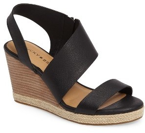 Women's Lucky Brand Lowden Wedge Sandal $88.95 thestylecure.com