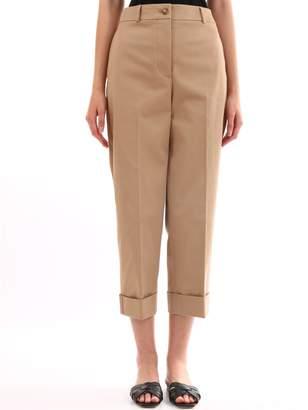 Burberry Cotton Cut Trousers