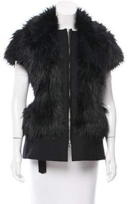 CNC Costume National Faux Fur Vest