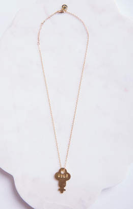 MUMU The Giving Keys ~ Dainty Necklace ~ WILD ~ Gold
