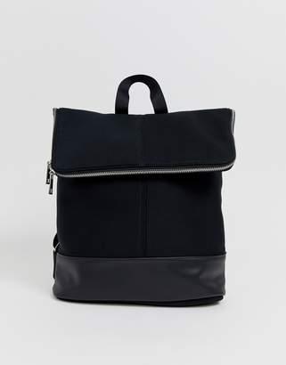 Asos Design DESIGN foldover backpack