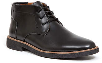 Deer Stags Mens Bangor Chukka Boots Block Heel Lace-up
