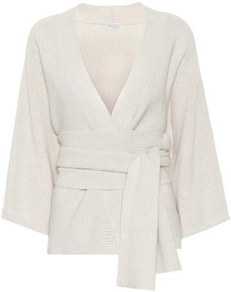 Brunello Cucinelli Cotton knitted cardigan