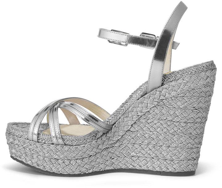 MICHAEL Michael Kors Cicely Metallic Wedge Sandal