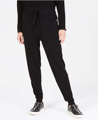 Charter Club Striped Cashmere Jogger Pants, Created for Macy's