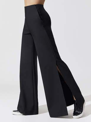 Carbon38 Wide Leg Trouser with Side Slit