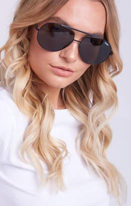 Show Me Your Mumu Quay Australia ~ Blaze Sunglasses ~ Black